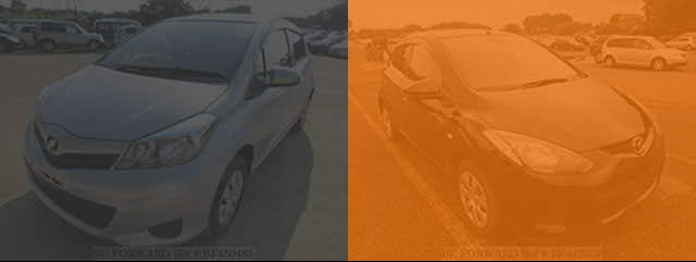 TOYOTA VITZ vs MAZDA DEMIO Comparison Review