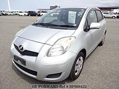 Used Cars for Commuting TOYOTA VITZ