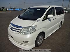 Used Family Cars and Company Vans TOYOTA ALPHARD